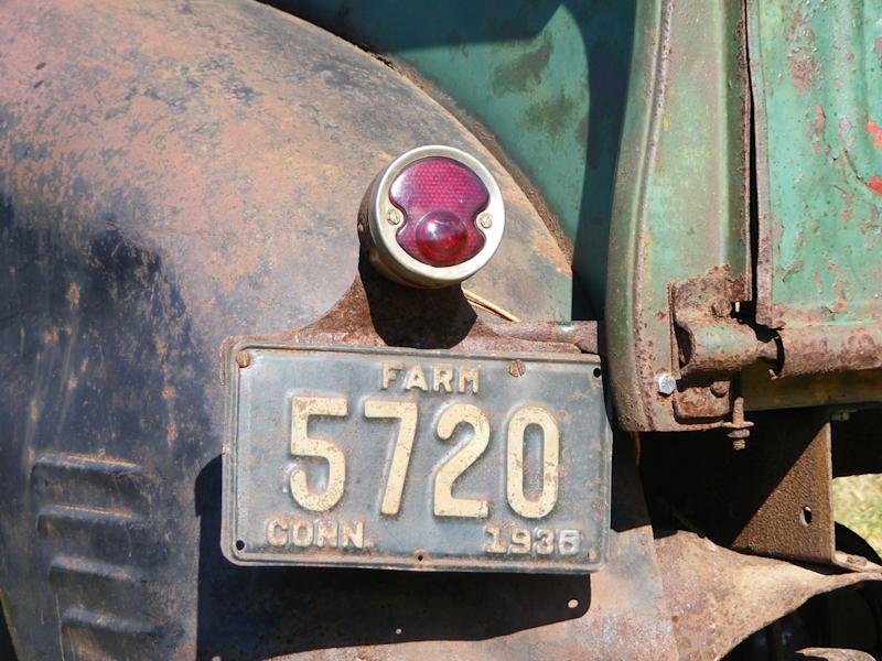 The first permanent license plates for a car were issued on this date in 1937