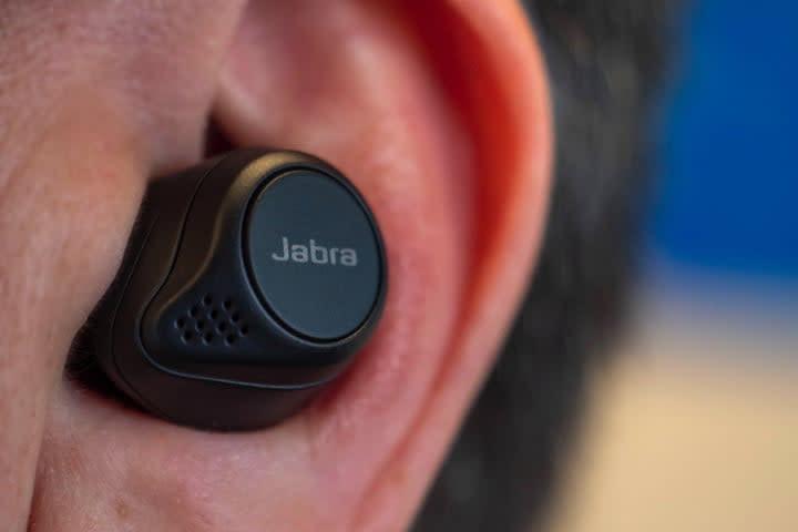 Jabra elite 75t true wireless headphones
