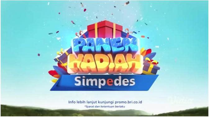 Program Panen Hadiah Simpedes diselenggarakan dua periode setiap tahunnya