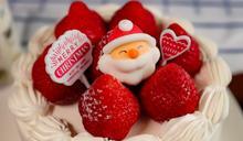草莓奶油聖誕蛋糕 Marry Xmas