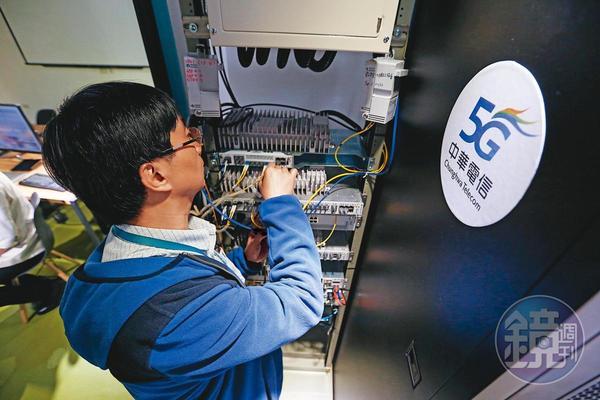 中華電信研究院技術領軍、中華電信5G機房大曝光。