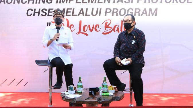 """Pulihkan Sektor Pariwisata, Wishnutama Luncurkan """"We Love Bali"""""""