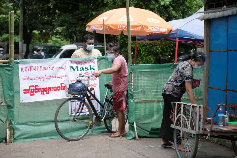 Myanmar orders Yangon stay at home from Monday