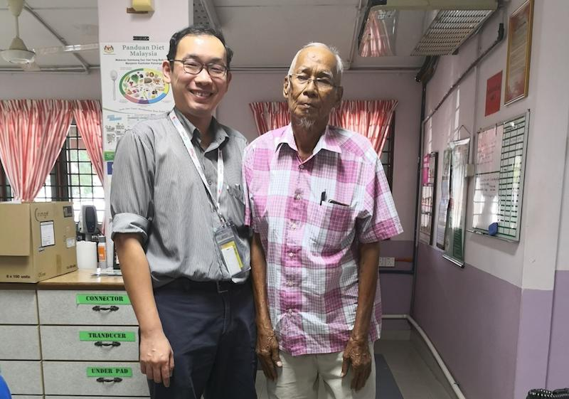 Abdullah has been under the care of Dr Chang for over 10 years, even before he became a nephrologist. — Picture via Facebook/Eason Chang