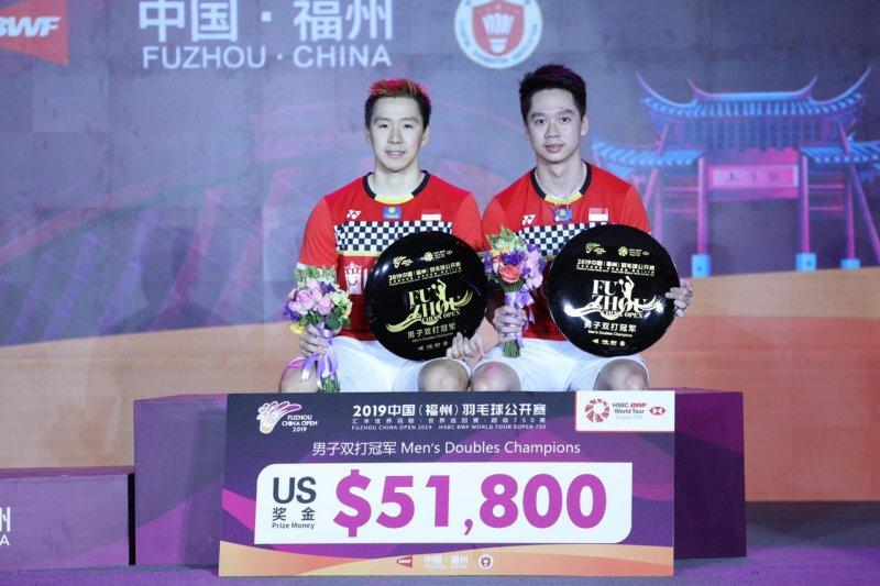 Juarai Fuzhou China Open 2019, Minions ingin jaga motivasi
