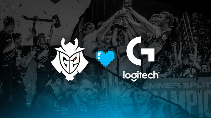 G2 Perpanjang Kemitraan dengan Logitech G. Kredit: Logitech