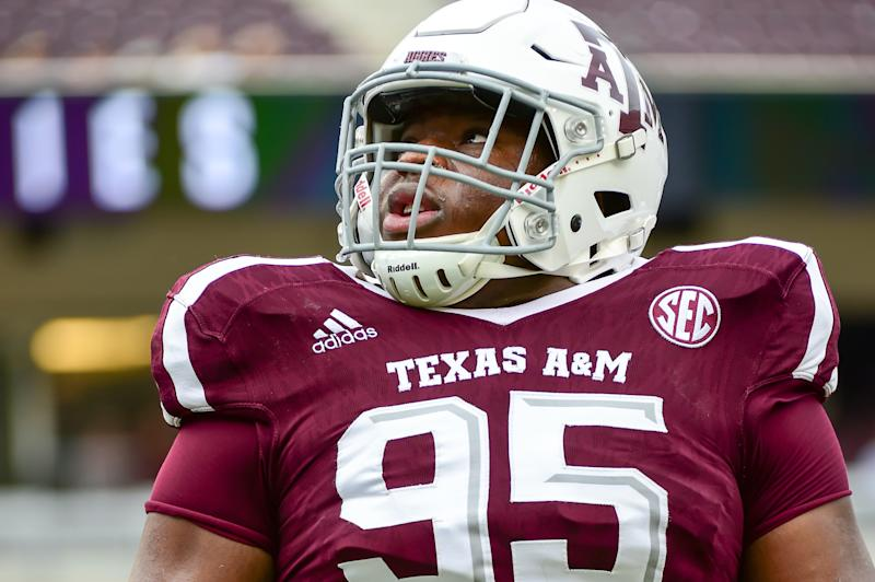 Texas A&M DT Justin Madubuike could be a first-round surprise in 2020. (Getty Images)