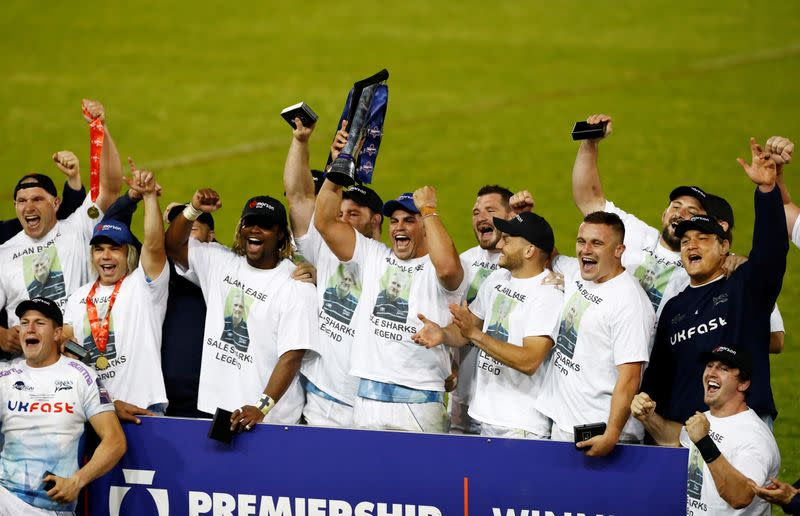 Rugby Union: Sale edge Quins in Premiership final to win first trophy since 2006