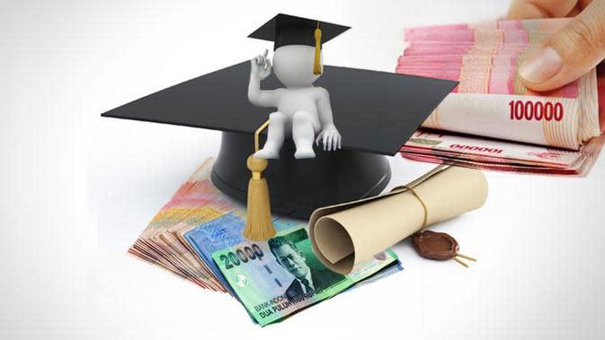 Ilustrasi biaya pendidikan (Liputan6.com/Andri Wiranuari)