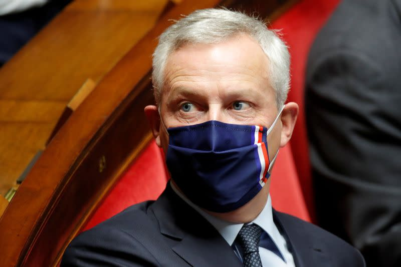French Finance Minister tests positive for coronavirus