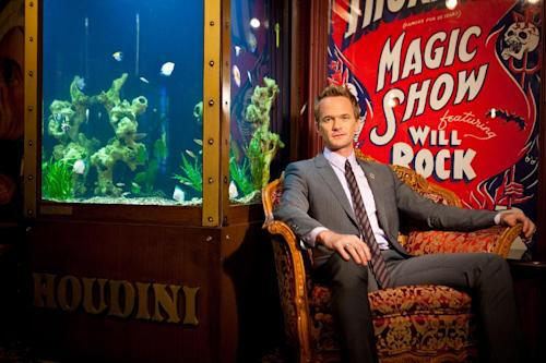 In this photo taken on Tuesday, Sept 10, 2013, Neil Patrick Harris poses for a portrait at the Magic Castle in Los Angeles. As the 41-year-old entertainer prepares to host the 65th Primetime Emmy Awards on Sunday, Sept. 22, he talks to The Associated Press about his magical past and present and plans for the future. He's actually magical, like in the abracadabra way, and has been since he was a kid. (Photo by Zach Cordner/Invision/AP)