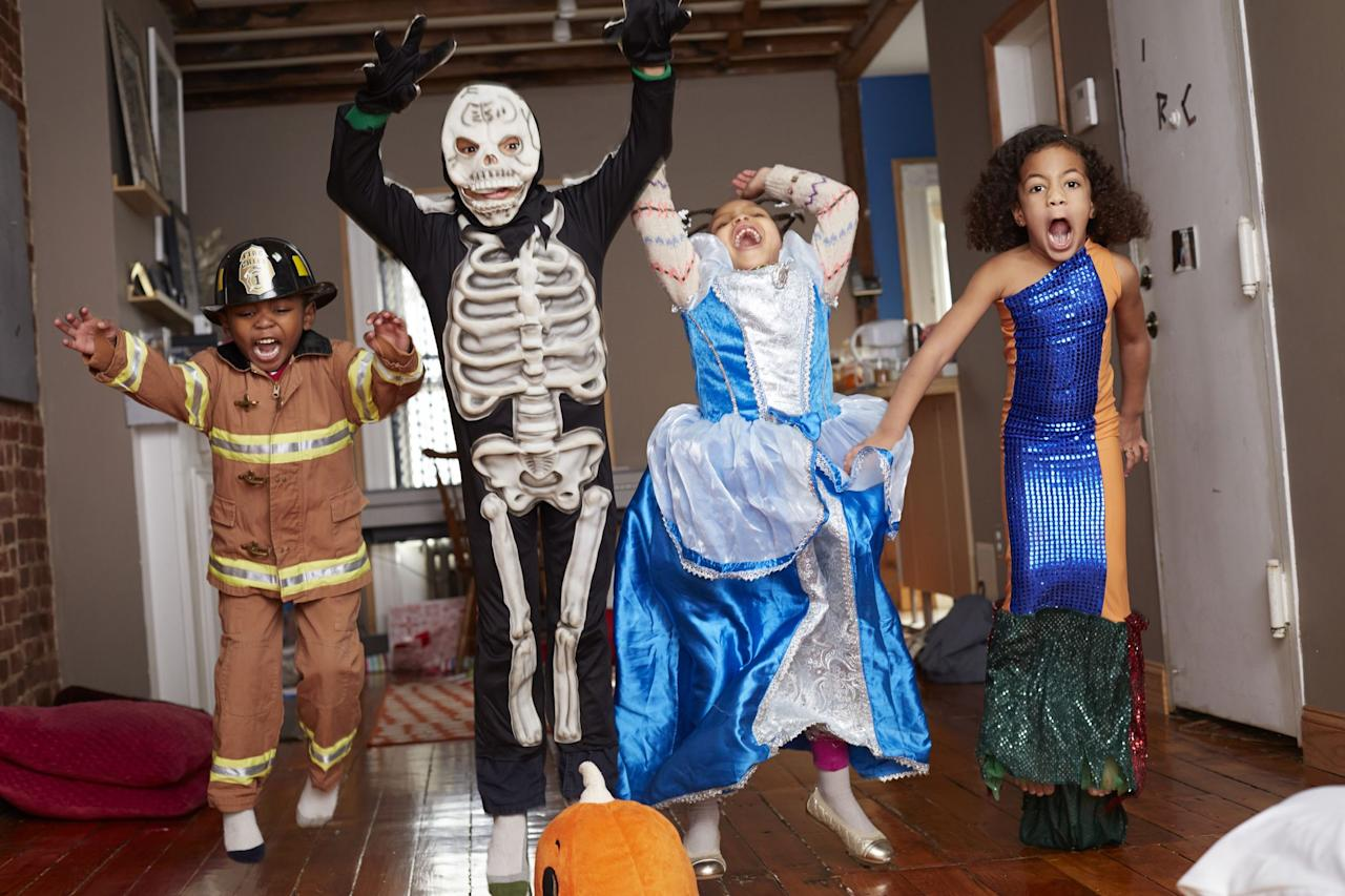 """<p>It's time for the <a href=""""https://www.goodhousekeeping.com/holidays/halloween-ideas/"""" target=""""_blank"""">Halloween</a> party: The treats are ready, the costumes are prepared, the decorations are up — but what about the music? Coming up with a kid-appropriate Halloween playlist can be tricky for a children's party, since you want to set a spooky mood, but you don't want them coming into your room that night complaining that Vincent Price's voiceover in Michael Jackson's """"Thriller"""" is giving them nightmares. (Uh, not that anyone is speaking from personal experience here. And I'm not talking about my kid — I'm talking about myself.) Plus, theremin music may set the mood, but it's not going to get anybody up and dancing, right? </p><p>We've come up with a list Halloween songs for kids that will get your crew singing and heading to the floor to show off their monster moves. Some are classics, some are from beloved movies and television shows, and some come courtesy of our favorite children's performers. Will any of them cross over to the year-round playlist? </p><p>When you're done checking these out, take a look at some of <em>Good Housekeeping</em>'s other great Halloween ideas, including <a href=""""https://www.goodhousekeeping.com/holidays/halloween-ideas/g2661/halloween-movies/"""" target=""""_blank"""">Halloween movies for kids</a> and <a href=""""https://www.goodhousekeeping.com/holidays/halloween-ideas/g238/pumpkin-carving-ideas/"""" target=""""_blank"""">easy pumpkin-carving ideas</a>.<br></p>"""