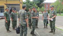 8軍團副指揮官視導大內營區