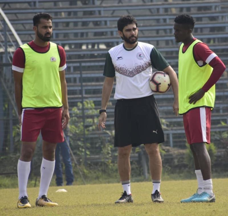 I-League 2018-19: Khalid Jamil looks forward to next Kolkata derby after brace of wins
