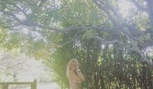 果然小辣椒 女星慶生秀「全裸戰袍」