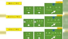 台南交流道新標示被罵翻 高公局再改