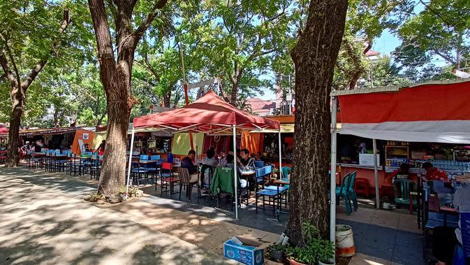 Kawasan Kuliner Kanre Rong Makassar (Liputan6.com/Fauzan)