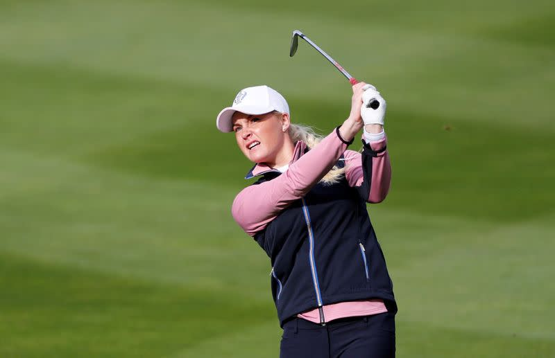 Golf: Hull withdraws from ANA Inspiration after positive COVID-19 test