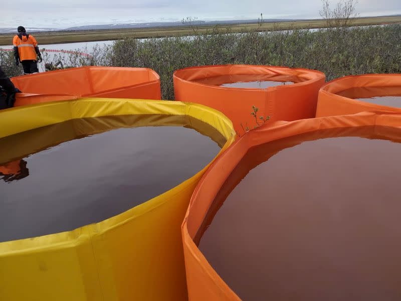 Russia's Nornickel fights cover-up accusations over Arctic oil spill