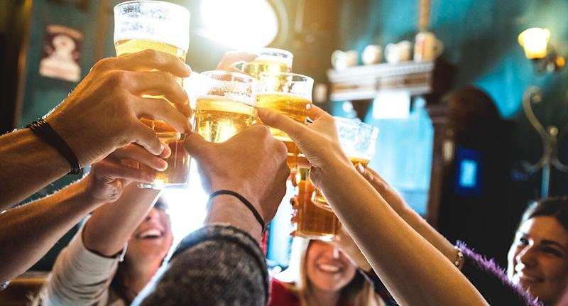The majority of Australian drinkers consider themselves responsible drinkers. Source: Getty Stock