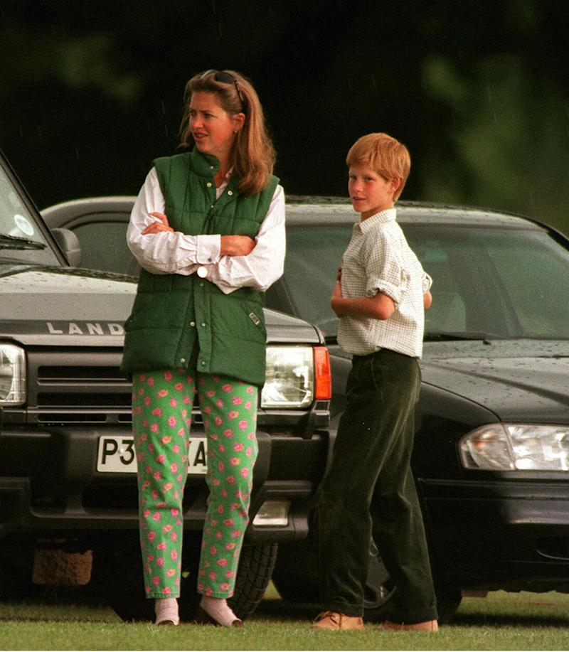 The former nanny - known as Tiggy Legge-Bourke before her marriage - became a mother figure to the Duke of Sussex after the death of Princess Diana in 1997 [Image: Getty]