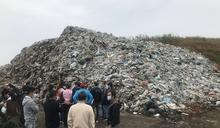 雲林元長鄉5000公噸垃圾山 (圖)