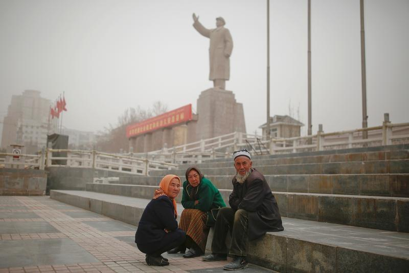 FILE PHOTO -The Wider Image: Uighur heartland transformed into security state