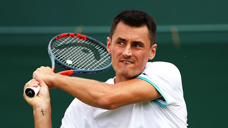 Bernard Tomic's career is in free fall after a plummet down the world rankings.