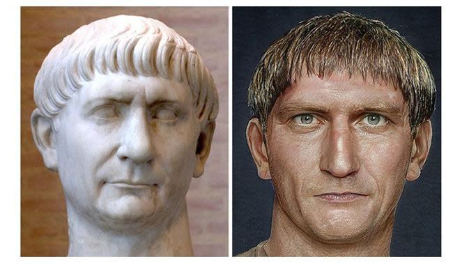 Patung Romawi (Sumber: Boredpanda)