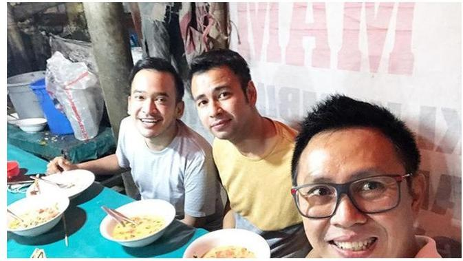 Ruben Onsu, Raffi Ahmad dan Eko Patrio (Sumber: Instagram/rubenonsu)
