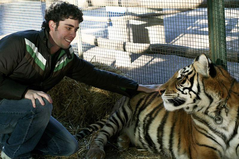 If you ever wanted to pet a tiger or lion, this zoo is the place