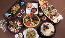 當藝術遇到美食 台南晶英VS旅歐藝術家白魚、黃子佼百魚佼饗宴