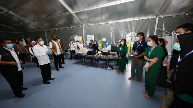 Layani Pasien COVID-19 di Surabaya, RS Lapangan Miliki 271 Tempat Tidur