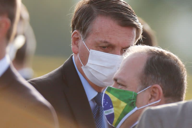 FILE PHOTO: Outbreak of the coronavirus disease (COVID-19) in Brasilia