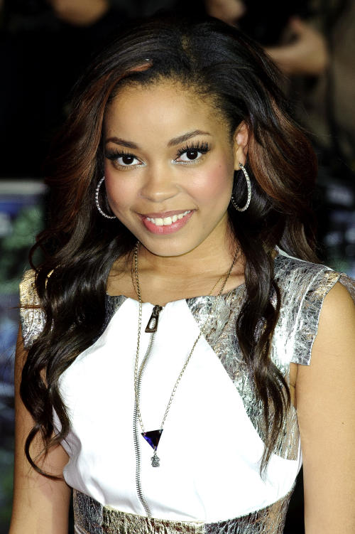 "FILE - In this Oct. 10, 2011 file photo, British singer Dionne Bromfield arrives for the UK Premiere of ""Demons Never Die"" in central London. Bromfield is one of many young singers blazing the charts. (AP Photo/Jonathan Short, file)"