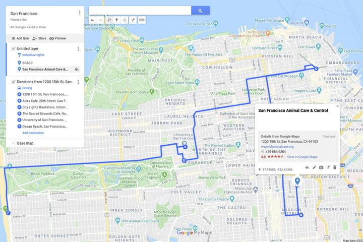Google maps custom map