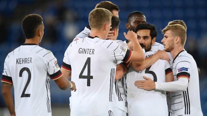 Jerman Memalukan, Sejajar Malta dan San Marino di Nations League