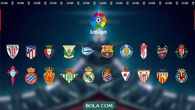 Klasemen La Liga 2019-2020: Real Madrid Tinggal Butuh 2 Kemenangan Lagi