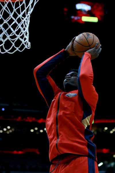 Zion Williamson scored 21 points for the New Orleans Pelicans on Sunday in an NBA loss at Houston