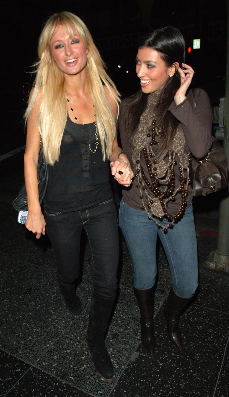 They have been close friends for years (pictured in 2007) (Getty Images)