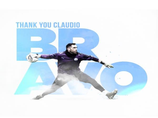 Claudio Bravo (Photo/ Manchester City Twitter)