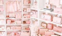 她就是「富貴粉紅控」!美國blogger Saki過百萬Chanel、Hermès珍藏鞋袋鋪滿牆