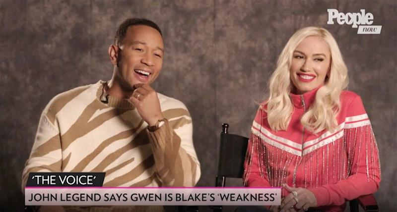 John Legend and Gwen Stefani | People Now