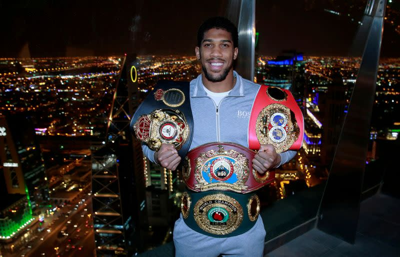 Joshua will have only one fight this year, says Hearn