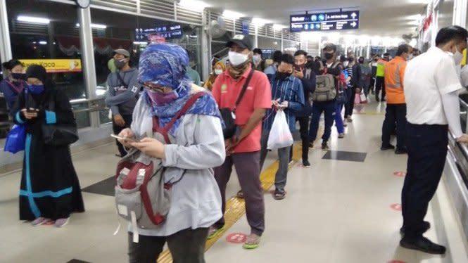 Hindari Kepadatan, PT KCI Ajak Pengguna Atur Jadwal Perjalanan