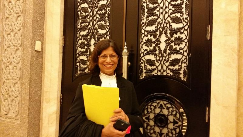 Lawyer Ranee Sreedharan said the Court of Appeal had decided in a case that a child was legitimated when her parents married later and that she could rely on her Malaysian father's citizenship status. — Picture by Ida Lim