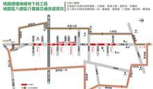 桃園捷運綠線G05站、VS4通風豎井架設圍籬施工 介壽路地下段工程預計115年完成