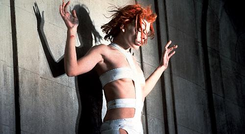 Unwrapping Milla Jovovich's famous costume from 'The Fifth Element'