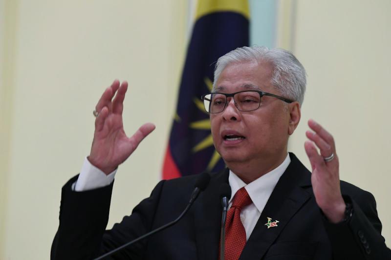 Senior Minister (Security Cluster) Datuk Seri Ismail Sabri Yaakob during a press conference on the recovery movement control order at Perdana Putra in Putrajaya, September 15, 2020. — Bernama pic