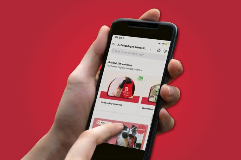 Layanan GoFood Gojek ungguli 46 aplikasi dunia